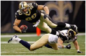 Saints Tight End Jimmy Graham